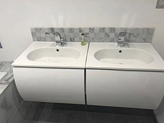 bathroom with ensuite whiteley fareham